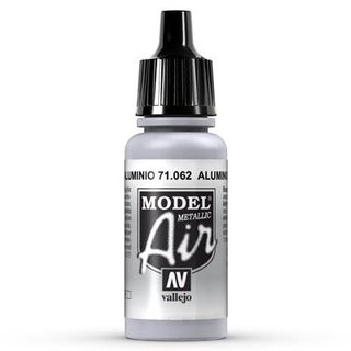 Vallejo Model Air: 062 Aluminium, 17 ml