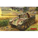 German Medium Tank Sd.Kfz.171 Panther Ausf.A Late in 1:35