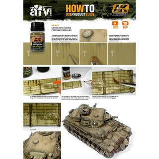 STREAKING GRIME FOR AFRIKA KORPS VEHICLES