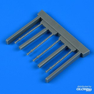 Gloster Gladiator gun barrels for ICM