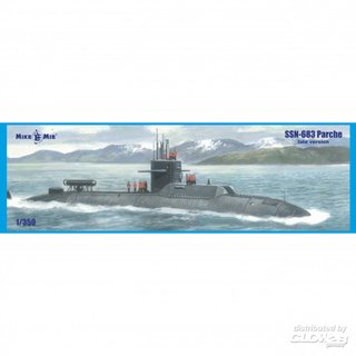SSN-683 Parche (late version) submarine