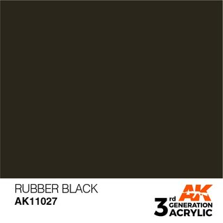 RUBBER BLACK - STANDARD